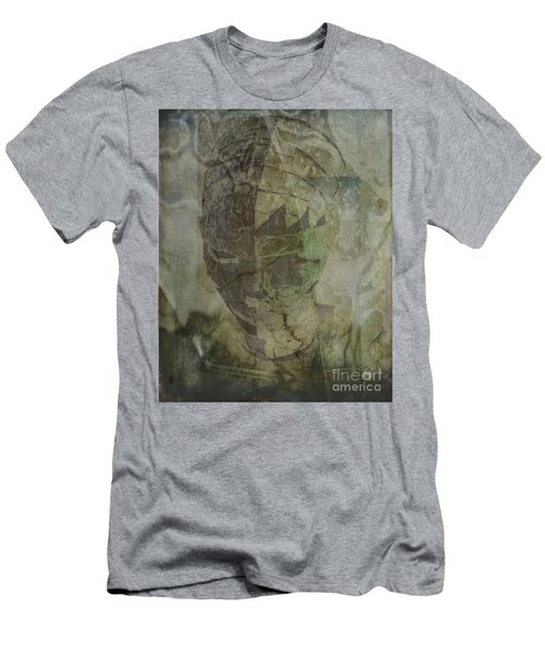 Men's T-Shirt (Slim Fit) featuring the photograph Almost Forgoten by Irma BACKELANT GALLERIES