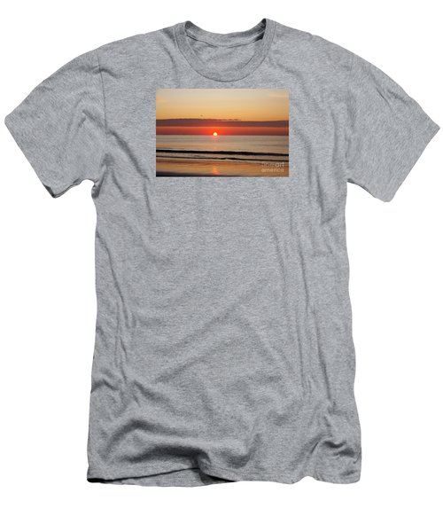 Almost Up Men's T-Shirt (Slim Fit) by Eunice Miller