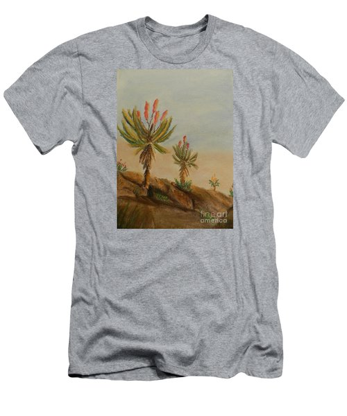 Aloes Men's T-Shirt (Athletic Fit)