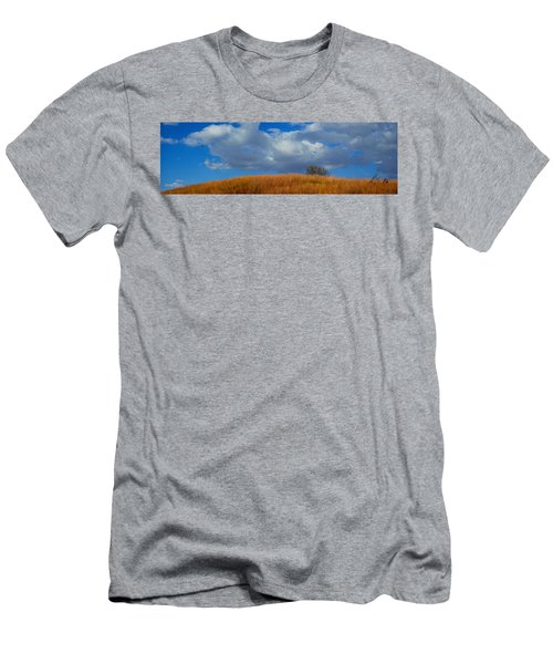 Along Big Bluestem Ridge Men's T-Shirt (Athletic Fit)
