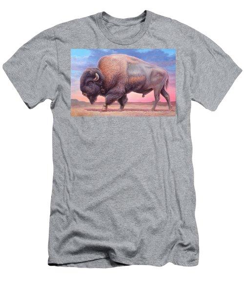 American Buffalo Men's T-Shirt (Slim Fit) by Hans Droog