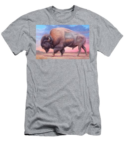 American Buffalo Men's T-Shirt (Athletic Fit)