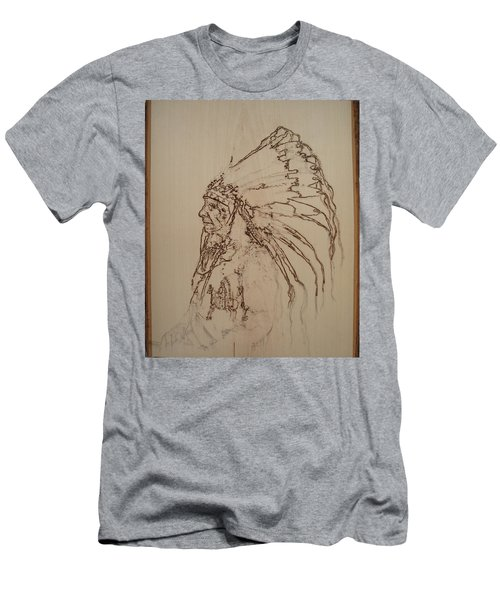 American Horse - Oglala Sioux Chief - 1880 Men's T-Shirt (Slim Fit) by Sean Connolly