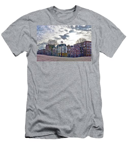 Amsterdam Bridges Men's T-Shirt (Athletic Fit)
