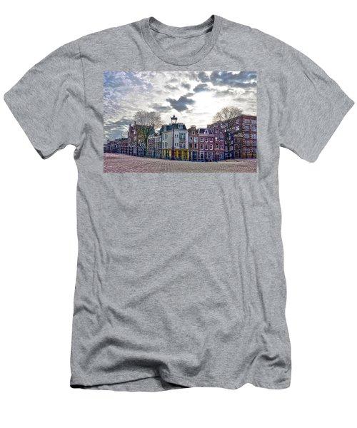 Amsterdam Bridges Men's T-Shirt (Slim Fit) by Frans Blok