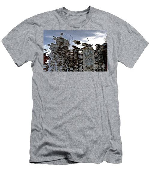 Men's T-Shirt (Slim Fit) featuring the photograph Amsterdam Reflections 2 by Andy Prendy