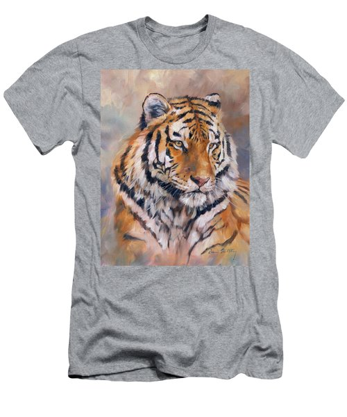 Amur Tiger Men's T-Shirt (Athletic Fit)