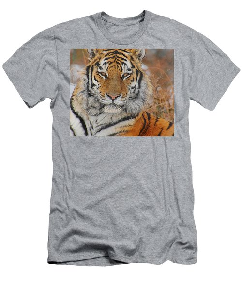 Amur Tiger Magnificence Men's T-Shirt (Athletic Fit)