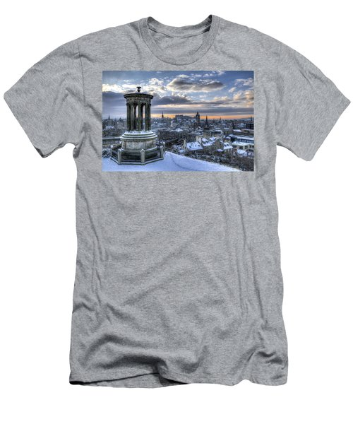 An Edinburgh Winter Men's T-Shirt (Athletic Fit)
