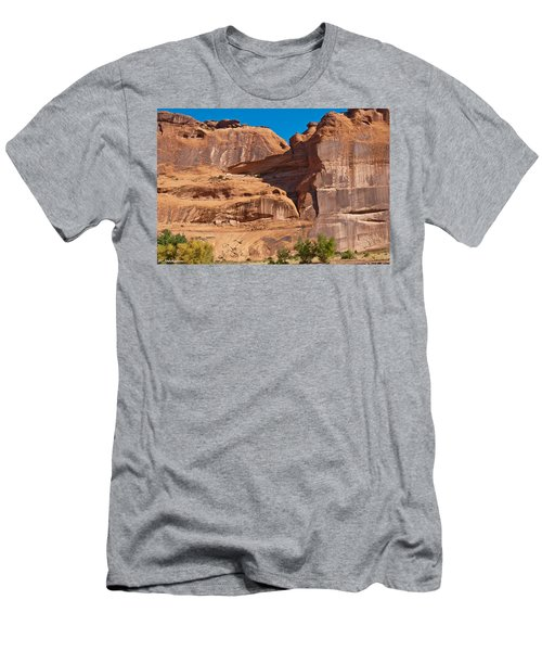 Anasazi Pueblo Canyon De Chelly Navajo Nation Men's T-Shirt (Athletic Fit)