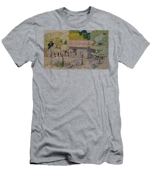 Anderson Barns Men's T-Shirt (Athletic Fit)
