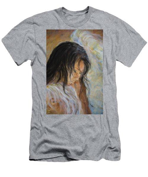 Angel Face Men's T-Shirt (Athletic Fit)