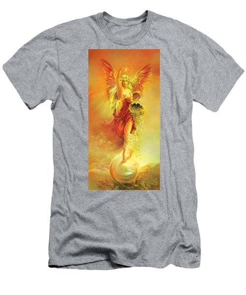 Angel Of Abundance - Fortuna Men's T-Shirt (Athletic Fit)
