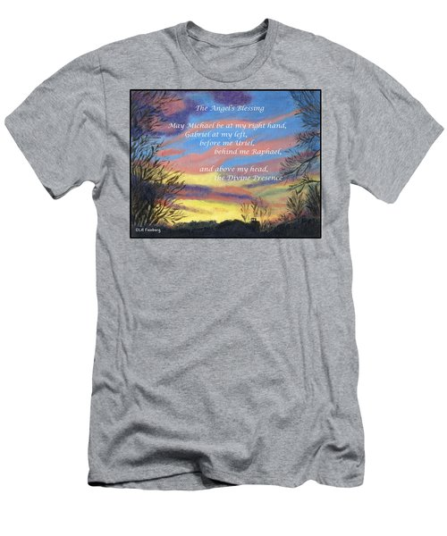 Angel's Blessing Men's T-Shirt (Athletic Fit)