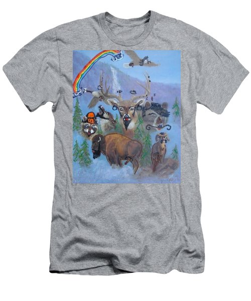 Animal Equality Men's T-Shirt (Athletic Fit)
