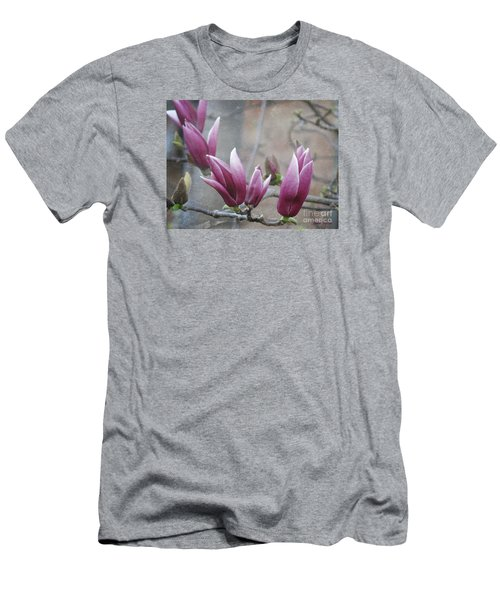 Anticipation Men's T-Shirt (Slim Fit) by Leanne Seymour