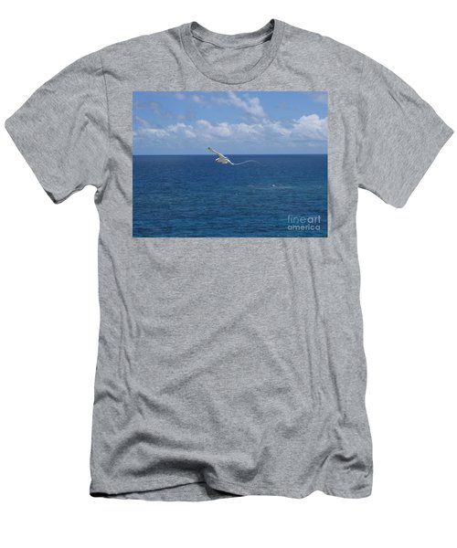 Antigua - In Flight Men's T-Shirt (Slim Fit) by HEVi FineArt