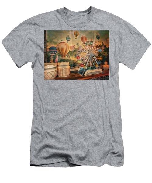 Antique Ferris Wheel Walt Disney World Men's T-Shirt (Athletic Fit)