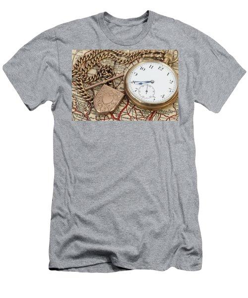 Antique Memories Men's T-Shirt (Athletic Fit)