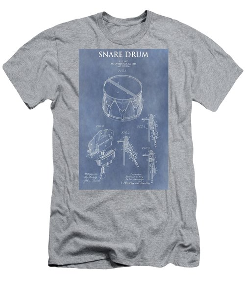 Antique Snare Drum Patent Men's T-Shirt (Athletic Fit)