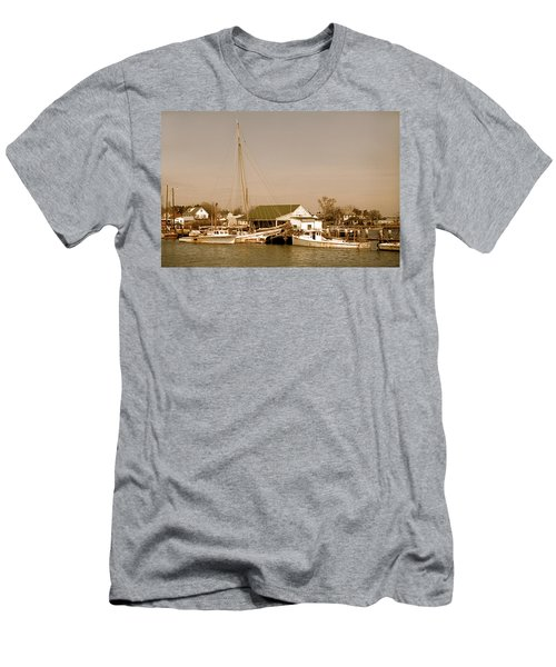 Antiques At Deal Island Men's T-Shirt (Athletic Fit)