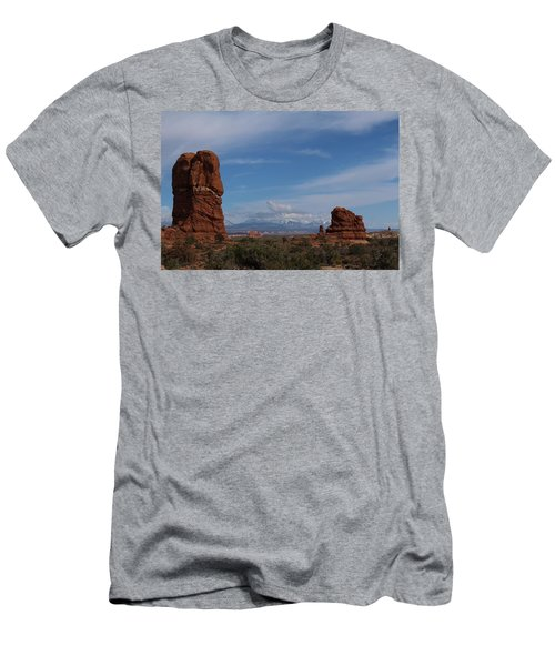 Arches National Monument Men's T-Shirt (Athletic Fit)