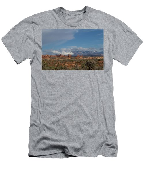 Arches National Monument Utah Men's T-Shirt (Athletic Fit)