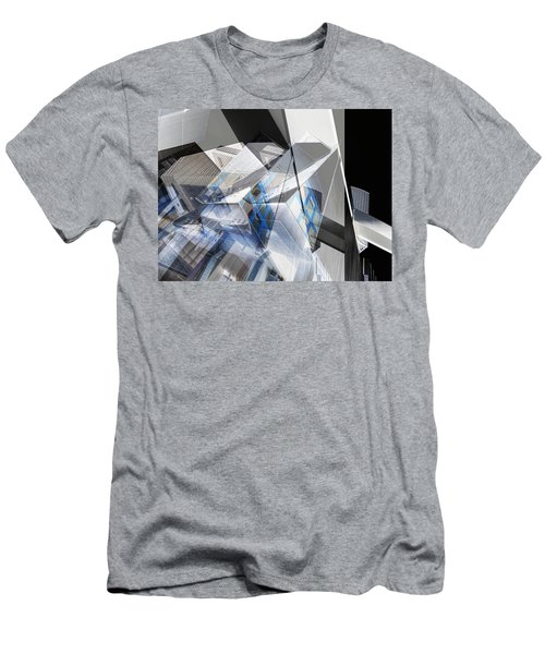 Architectural Abstract Men's T-Shirt (Athletic Fit)