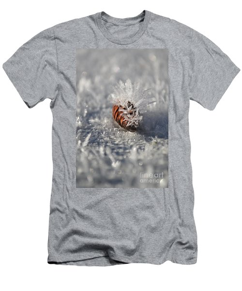 Arctic Pine Cone Porcupine Men's T-Shirt (Athletic Fit)