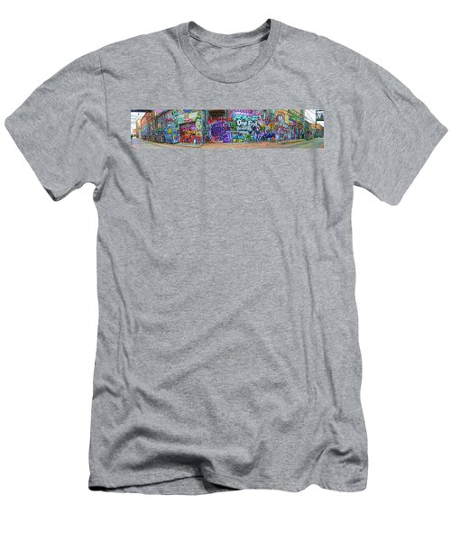 Art Alley Panorama Men's T-Shirt (Athletic Fit)