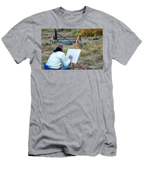 Artist Point Men's T-Shirt (Athletic Fit)
