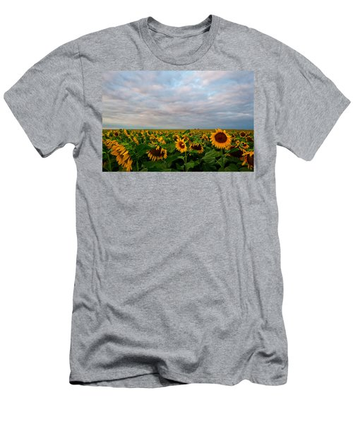 Men's T-Shirt (Slim Fit) featuring the photograph As Far As The Eye Can See by Ronda Kimbrow
