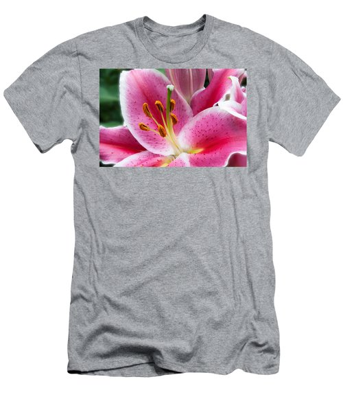 Asian Lily Men's T-Shirt (Athletic Fit)