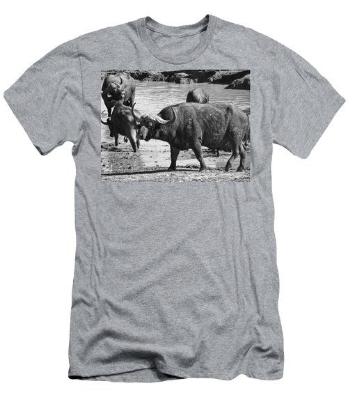 At The Waterhole V4 Men's T-Shirt (Athletic Fit)