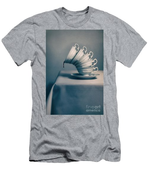 Men's T-Shirt (Athletic Fit) featuring the photograph Attention  by Jaroslaw Blaminsky