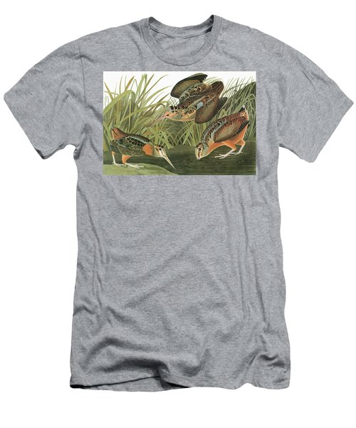Audubon Woodcock Men's T-Shirt (Athletic Fit)