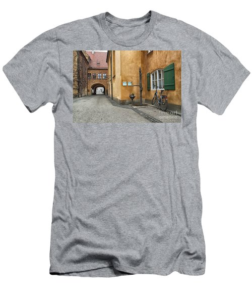Men's T-Shirt (Slim Fit) featuring the photograph Augsburg Germany by Paul Fearn