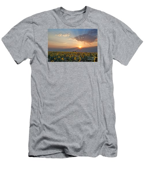 August Dreams Men's T-Shirt (Slim Fit) by Jim Garrison