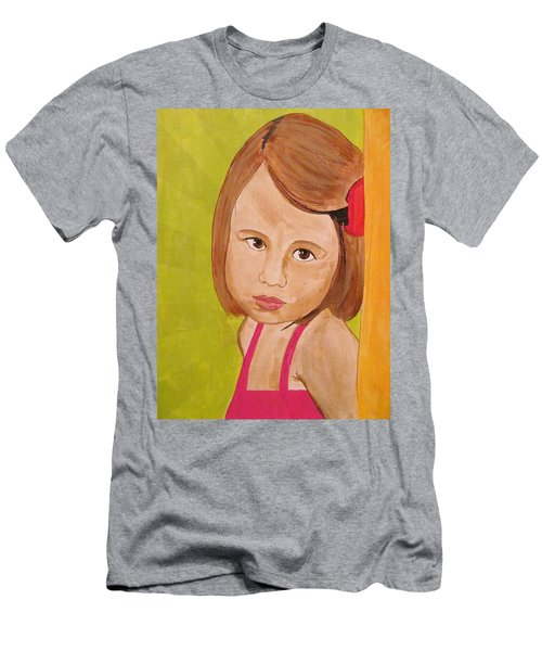 Men's T-Shirt (Athletic Fit) featuring the painting Aurora by Michelle Dallocchio