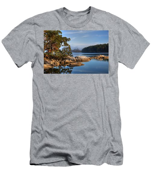 Autumn Afternoon Men's T-Shirt (Athletic Fit)