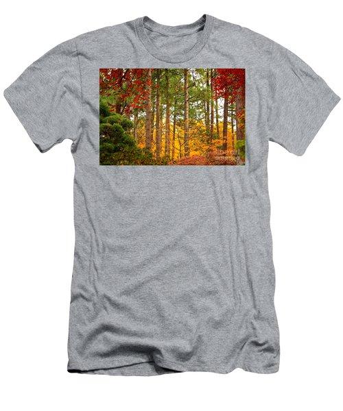Autumn Canvas Men's T-Shirt (Athletic Fit)