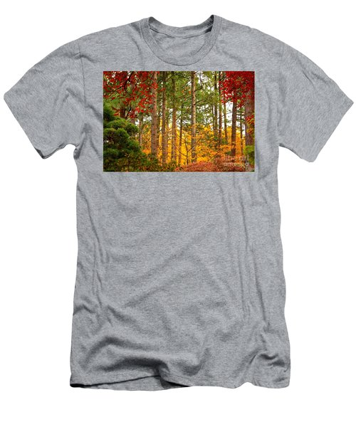 Autumn Canvas Men's T-Shirt (Athletic Fit)