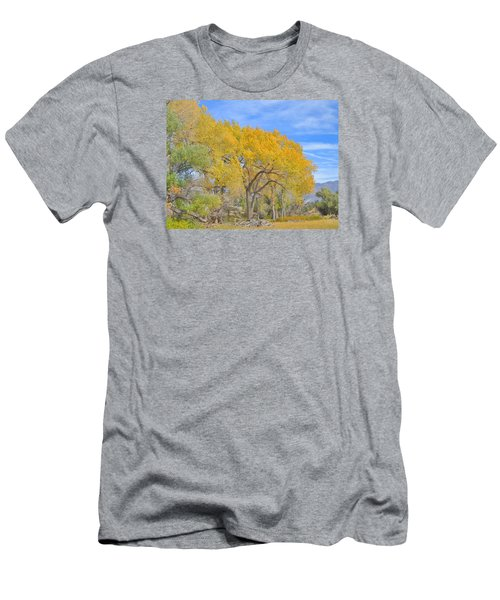 Men's T-Shirt (Slim Fit) featuring the photograph Autumn Colors by Marilyn Diaz