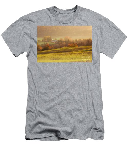 Autumn Fields Men's T-Shirt (Athletic Fit)