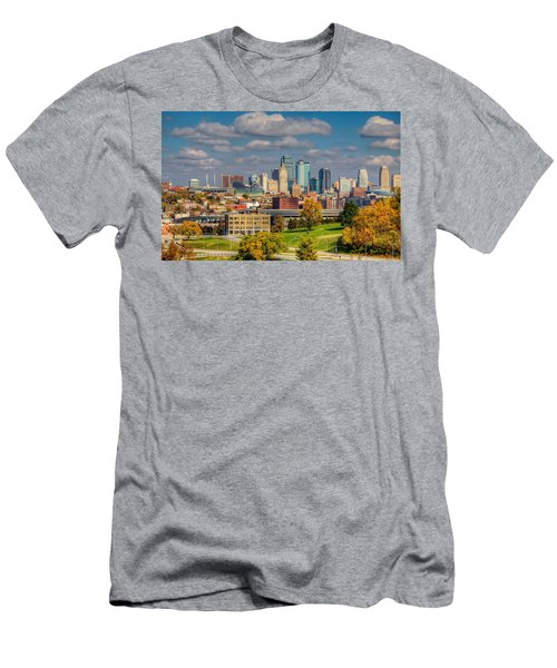 Autumn In Kansas City Men's T-Shirt (Athletic Fit)