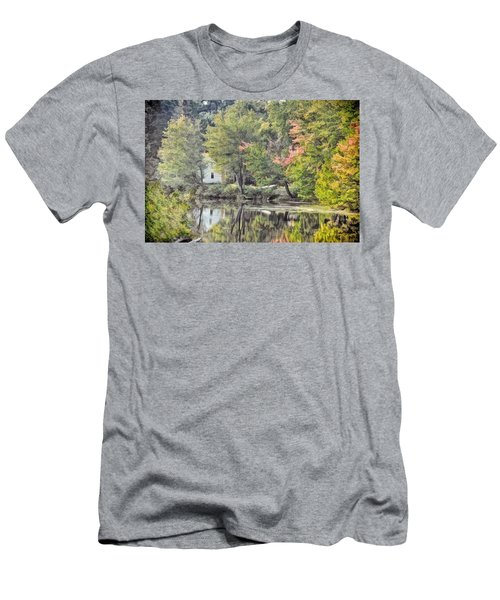 Autumn In Pastel Men's T-Shirt (Athletic Fit)