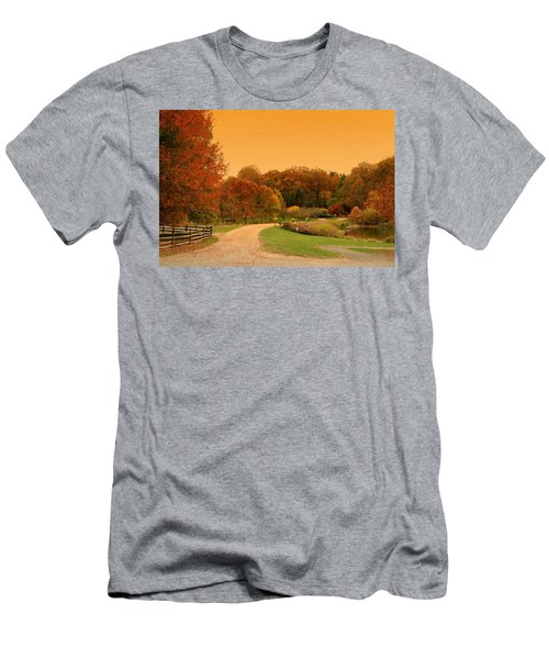 Autumn In The Park - Holmdel Park Men's T-Shirt (Athletic Fit)