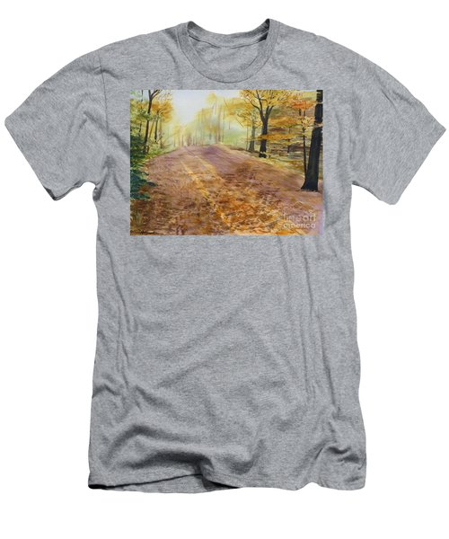 Autumn Sunday Morning Men's T-Shirt (Athletic Fit)
