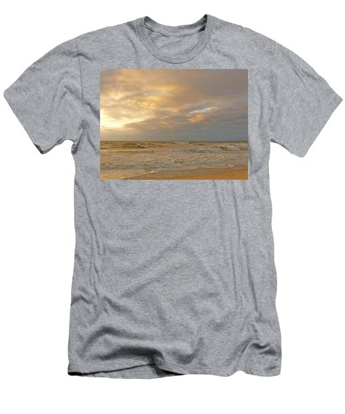 Autumn Sunrise Men's T-Shirt (Slim Fit)