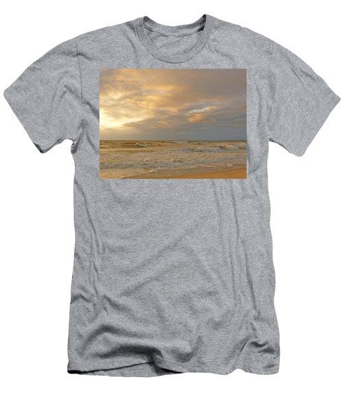 Autumn Sunrise Men's T-Shirt (Athletic Fit)